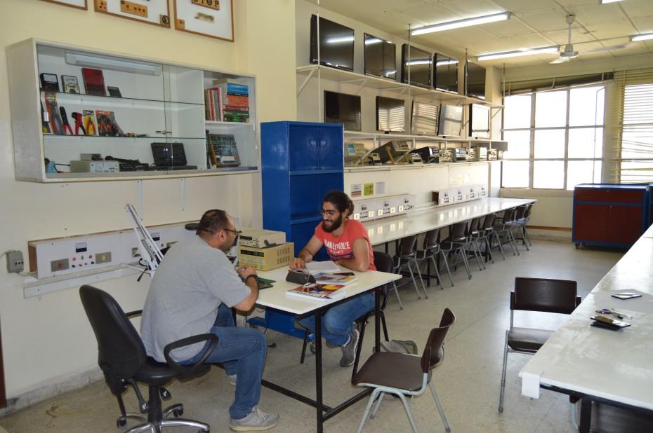 Renovated Electronics Lab