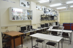 Renovated networking and smartphone repair lab
